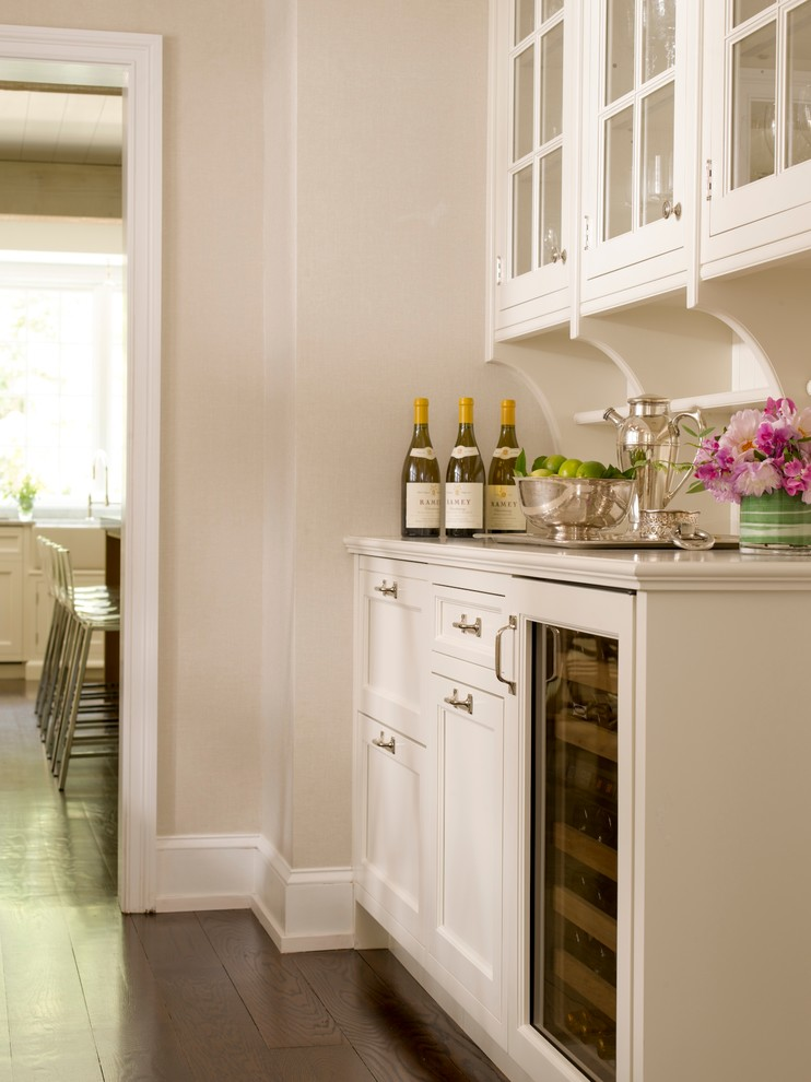 high ball glass Kitchen Traditional with butler's pantry
