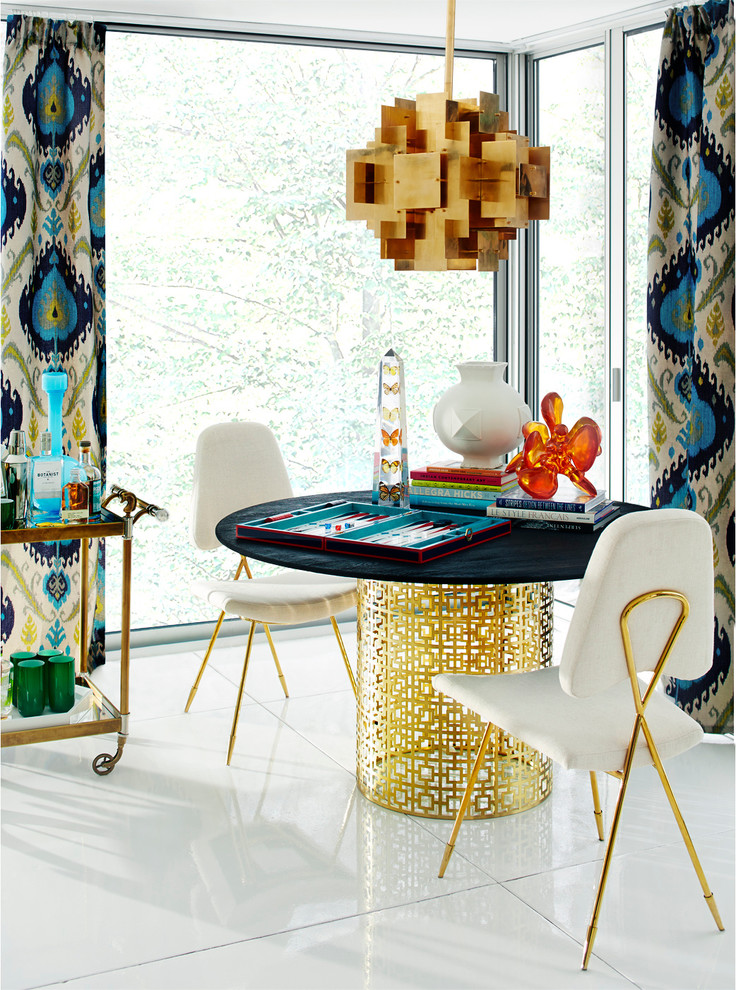 Highball Glass Dining Room Contemporary with None