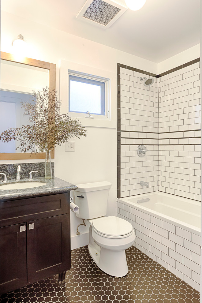 Hooker Bedroom Furniture Bathroom Traditional with Black White Black and White Bathroom Historic Shaker Cabinet Soaking Tub Victorian