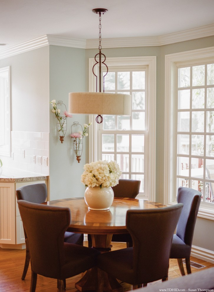 Hydrangea Arrangements Dining Room Traditional with Breakfast Nook Bud Vases Custom Furniture Hydrangea Arrangement