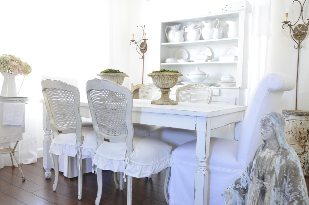 Indoor Chair Cushions Dining Room Shabby Chic with Cane Furniture Centerpiece Chair Cushions Curtains Dark Floor Dining Buffet Dining Hutch