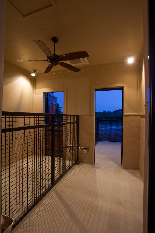 Indoor Dog Kennels Hall Contemporary with Dog Kennel
