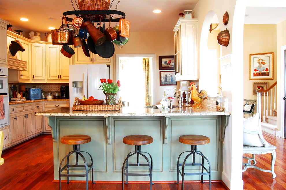 Industrial Bar Stools Kitchen Farmhouse with Bar Stools Bead Board Farm French Country Industrial Marble Pot Rack