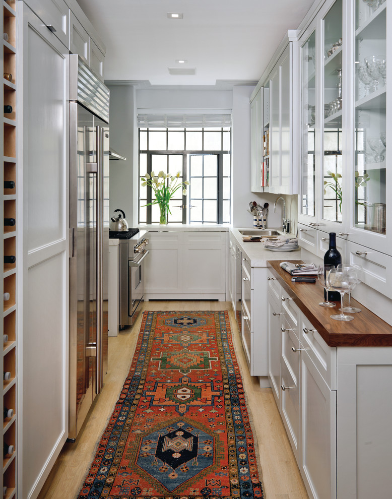 Inexpensive Area Rugs Kitchen Transitional with Cabinets Construction Management Cook French Window Galley General Contracting Glass Kitchen Cabinets