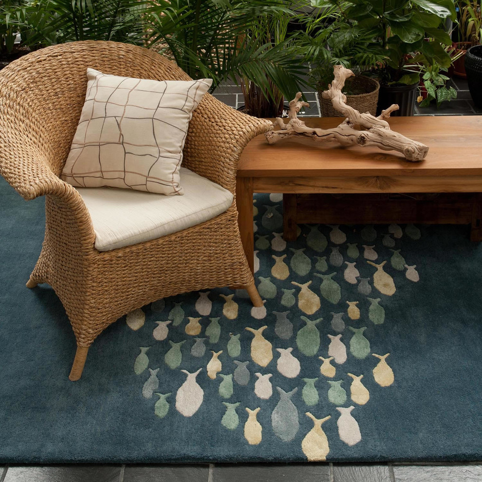 Jaipur Rugs Family Room Beach with Accent Rugs Area Rugs Coastal Living Hand Tufted Jaipur Rugs Transitional Rugs