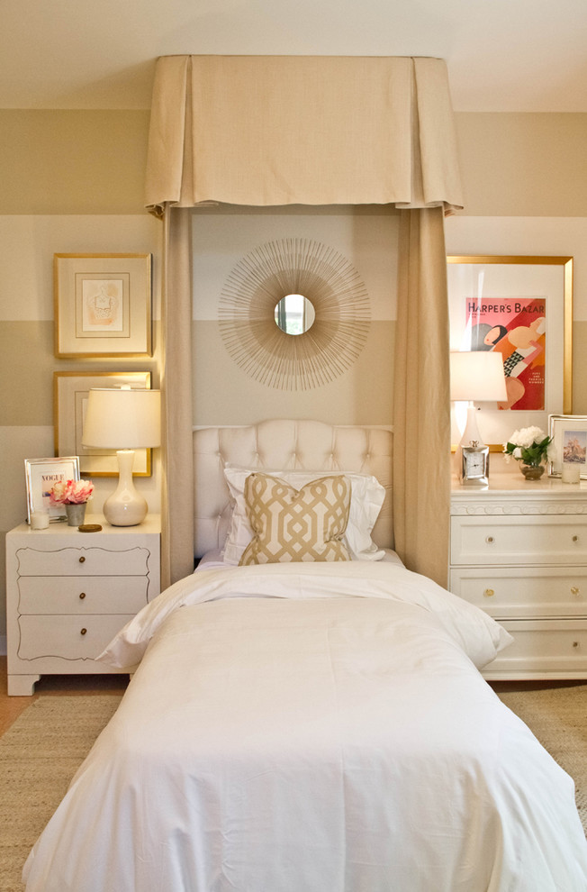 jessica mcclintock furniture Bedroom Traditional with area rug bed pillows bedside table chest of drawers decorative pillows gallery