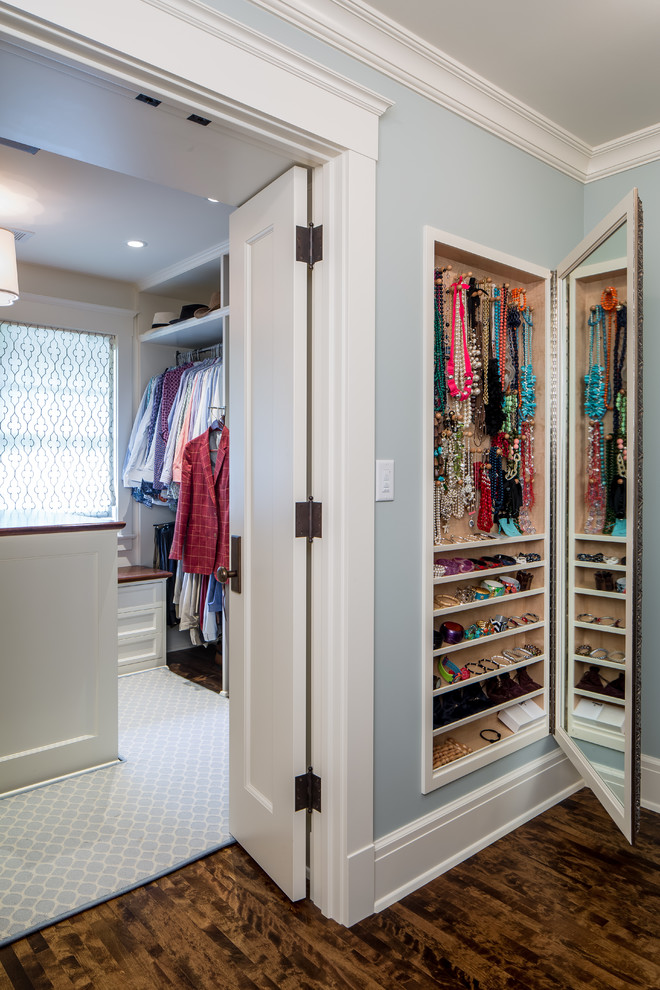 jewelry armoire Closet Traditional with accessories storage built in jewelry organizer jewelry storage Minneapolis minnesota mirror necklace