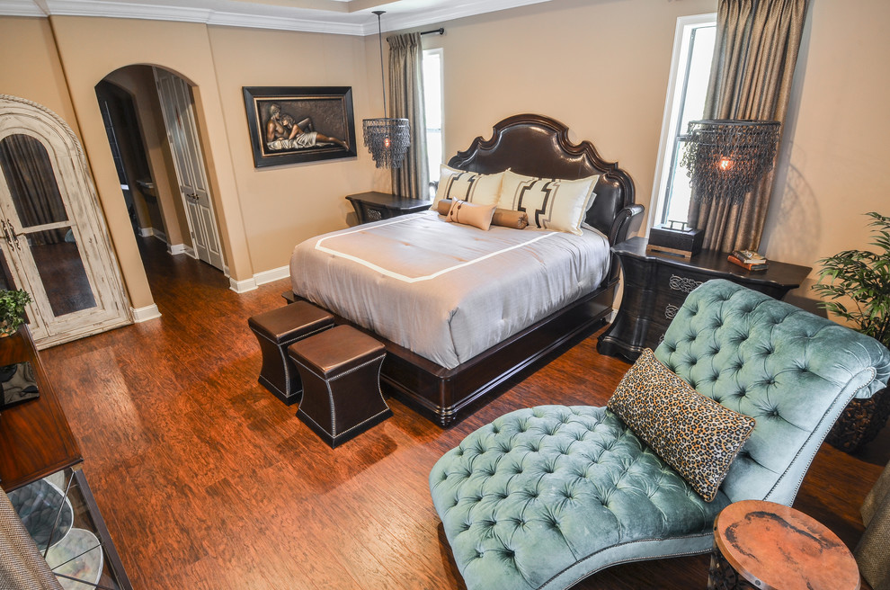 jewelry armoire mirror Bedroom Eclectic with Aquarius by Lexington arch doorway bedding bernhardt button tuft chaise chaise Currey
