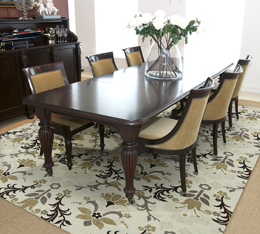 Kas Rugs Dining Room Mediterranean with Area Rug Carpet Dining Room Floors Home Decor Kas Kas Rugs Rug1