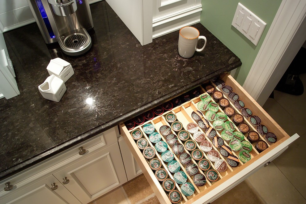 Keurig K Cup Holder Kitchen Traditional with Coffee Bar Coffee Center Keurig Organizer Organizer
