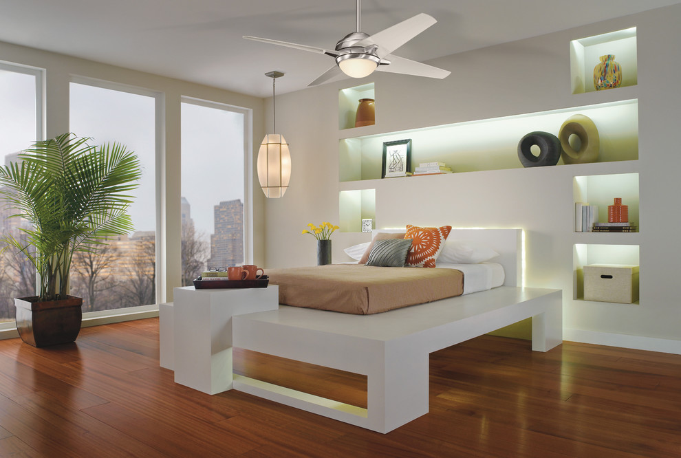 Kichler Ceiling Fans Bedroom Contemporary with 4 Blade Ceiling Fan Bedroom Ceiling Fan Bedroom Fan Chrome Ceiling Fan