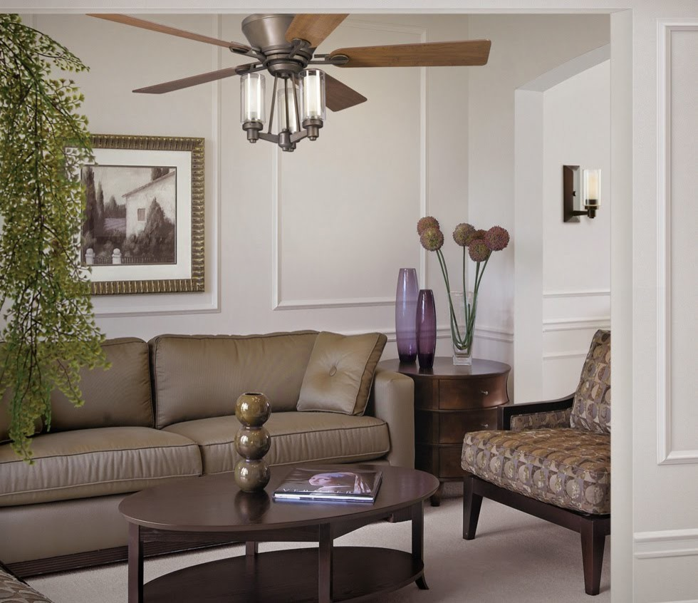 kichler ceiling fans Living Room Contemporary with 52 inch ceiling fan contemporary ceiling fan kichler ceiling fan kichler circolo
