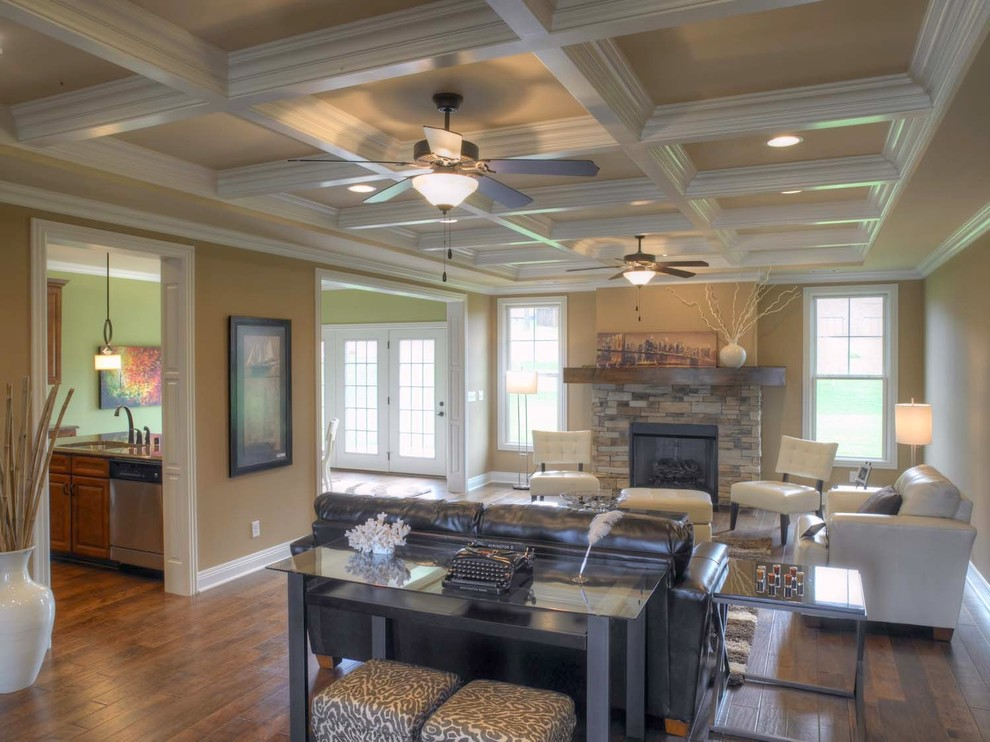 Kichler Ceiling Fans Living Room Traditional with Beige Walls Bowling Green Box Box Ceiling Ceiling Design Ceiling Detail Ceiling