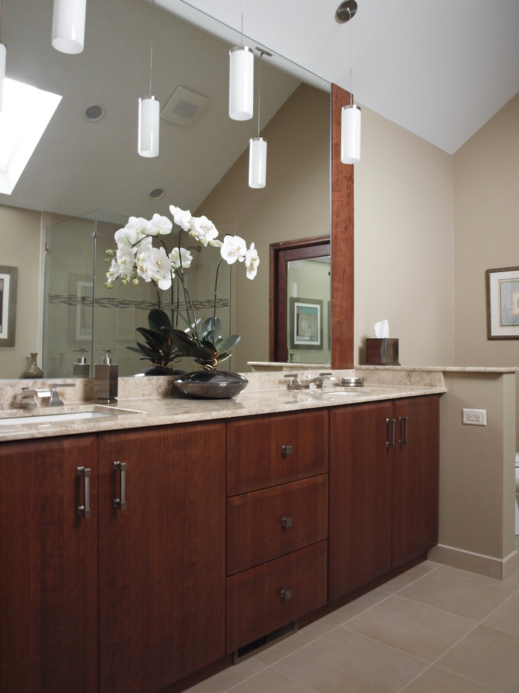 Kichler Com Bathroom Contemporary with Bathroom Mirrors Bathroom Neutral Colors Bathroom Vanities Bathroom Vanity Wood Concealed Toilet