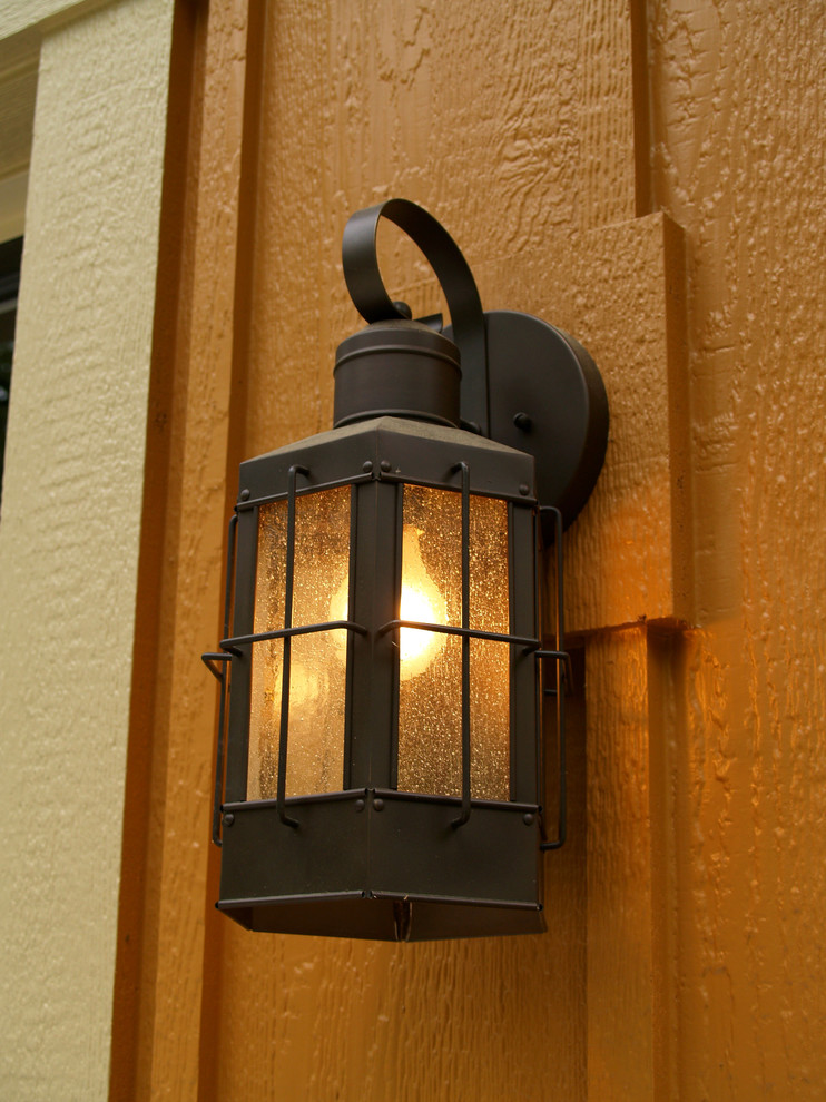 Kichler Com Spaces Traditional with Country Exterior Home House Lighting Porch Traditional