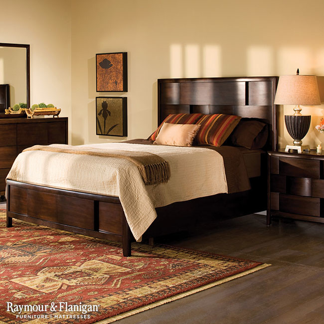 King Platform Beds Bedroom with None