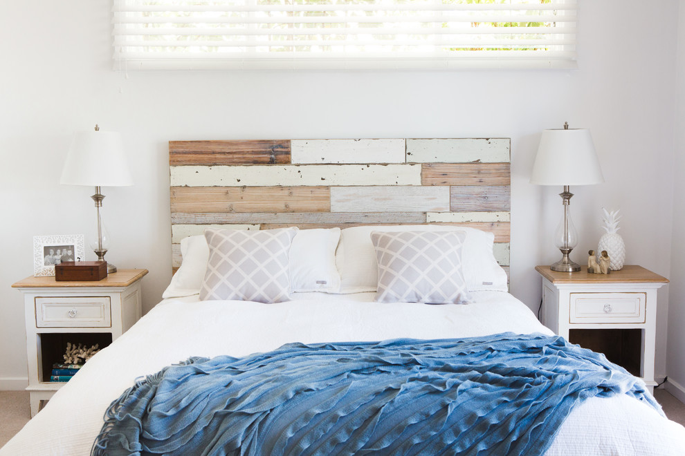king-size-bed-frame-with-headboard-Bedroom-Beach-with-beach-coastal ...