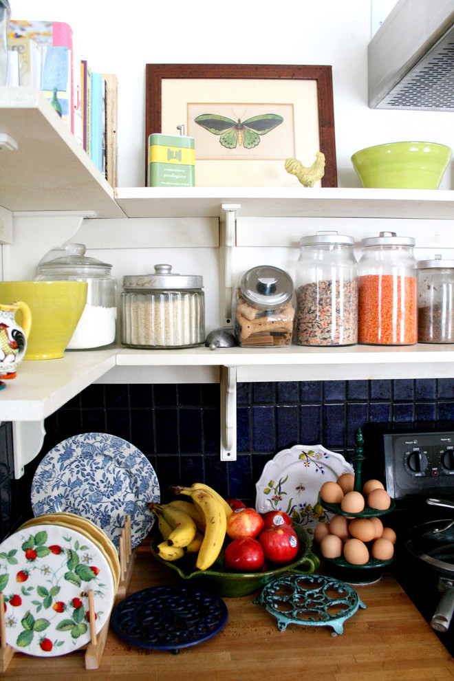 kitchen canister sets Kitchen Eclectic with butcher block countertops canister set egg carrier fruit bowl kitchen shelves plate