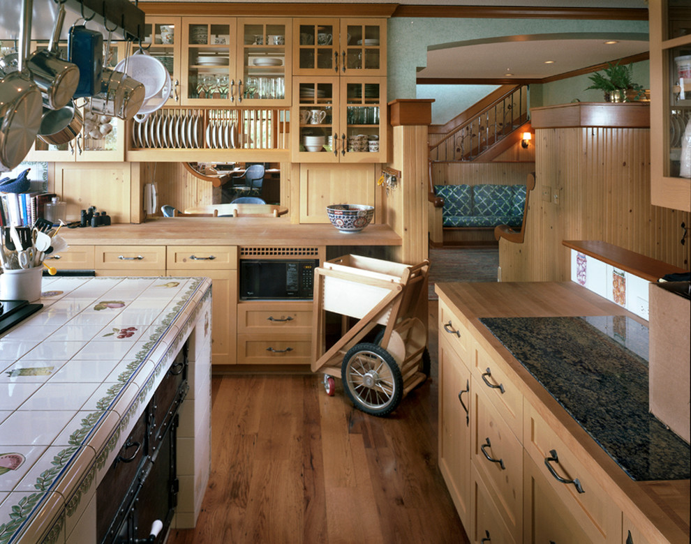 Kitchen Carts on Wheels Kitchen Traditional with Archway Cart Double Sided Cabinets Glass Cabinets Granite Hanging Pot Rack Hanging Pots