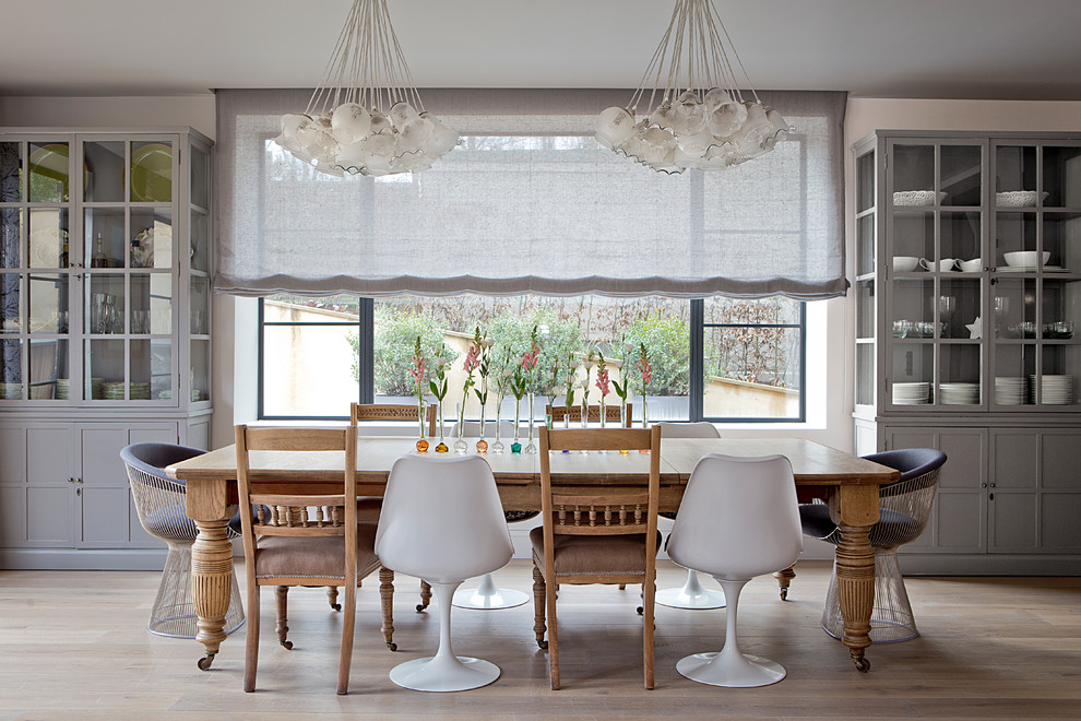 Kitchen Chairs with Casters Dining Room Contemporary with Centerpiece Cluster Pendant Lights Dining Room Dining Table with Casters Extension Table
