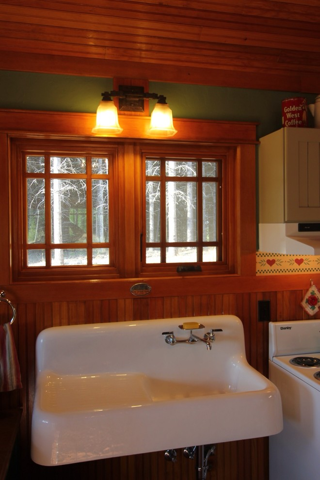Kitchen Sink Drain Kitchen Craftsman with Antique Sinks and Cabinetry Custom Drywall Texture Milgard Essence Wood Windows And