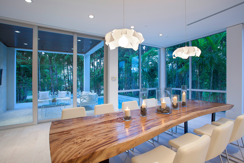 kitchen table centerpieces Dining Room Contemporary with 10 person table candles covered patio large dining table large windows live