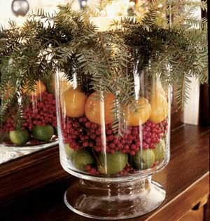 Kitchen Table Centerpieces Spaces with None