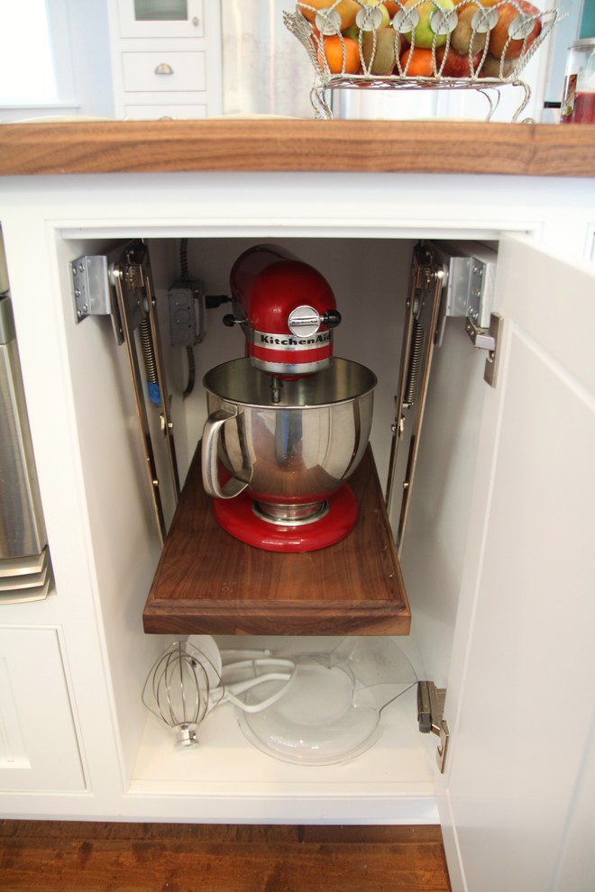 Kitchenaid Meat Grinder Attachment Spaces with Cabinet Drawers Kitchen Organizer Space Saver 1