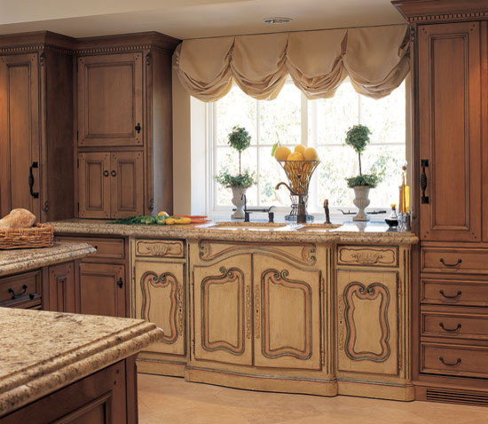 Kitchenaid Ultra Power Kitchen Traditional with Antique Antique Sink Base French Hand Carved Olde World Patina Rustic Traditional