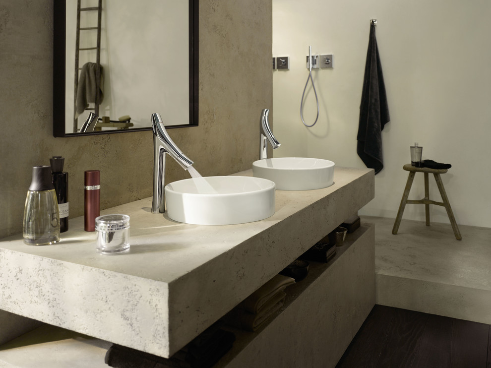 Kohler Purist Bathroom Contemporary with Axor Axor Starck Organic Bathroom Bathroom Faucet Bathtub Design Faucet Faucets Modern