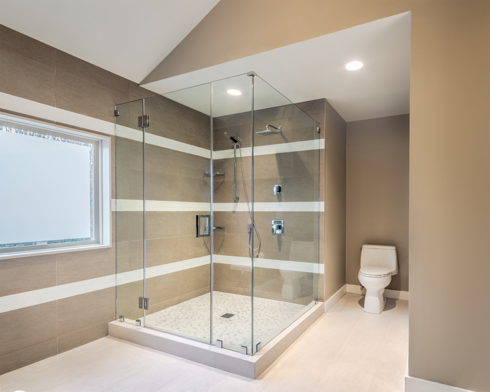 Kohler Santa Rosa Bathroom Contemporary with Bathroom Contemporary Design Glass Enclosure Modern