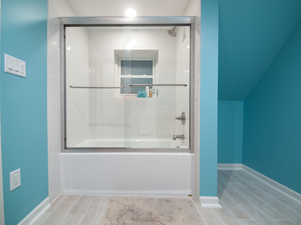 Kohler Shower Doors Bathroom Contemporary with 1865 Bathroom Blue Delta Diy Frameless Ikea Kohler Shower Door Maine Martha