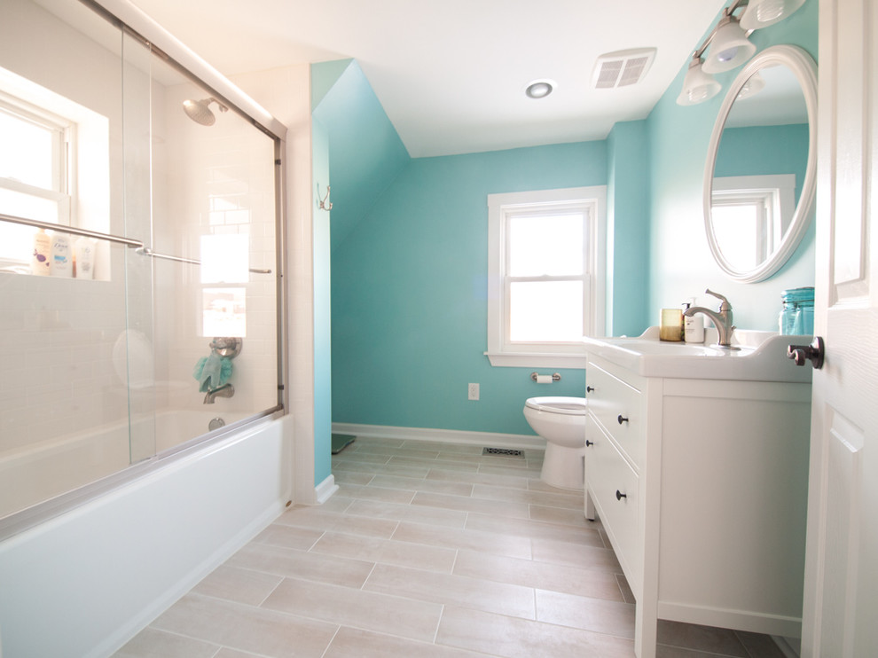 Kohler Shower Doors Bathroom Contemporary with 1865 Bathroom Blue Delta Diy Frameless Ikea Kohler Shower Door Maine Martha1