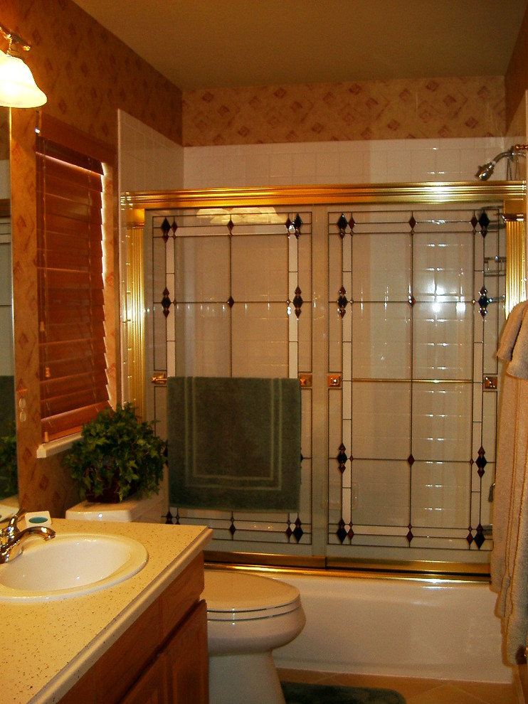 kohler shower doors Bathroom Traditional with bathroom shower door
