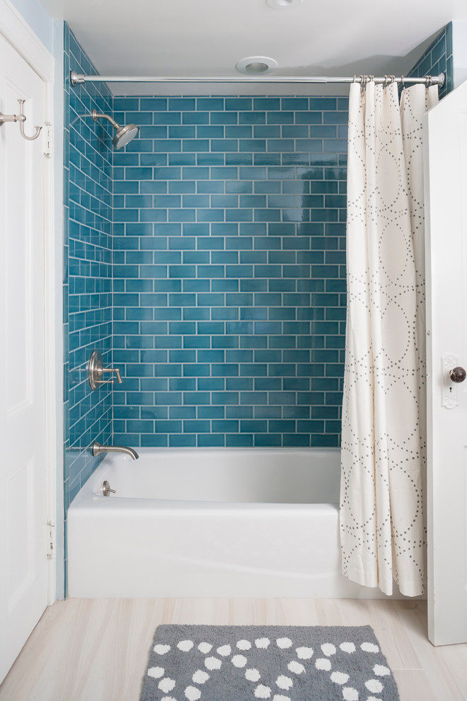 kohler-villager-tub-Bathroom-Traditional-with-curtains-drapes-earth ...