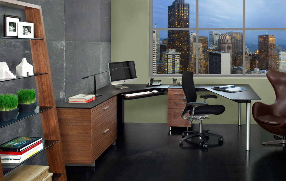 l shaped computer desk Home Office Contemporary with BDI contemporary corner desk contemporary design contemporary office contemporary office desk corner
