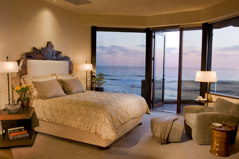 Lambskin Rug Bedroom Contemporary with Categorybedroomstylecontemporarylocationlos Angeles