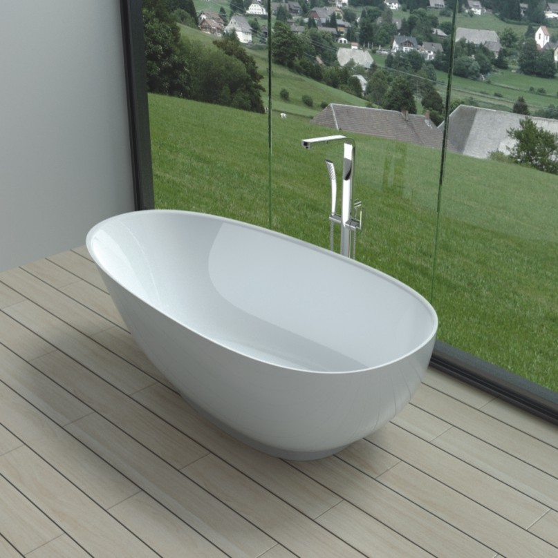 Large Round Ottoman Bathroom Contemporary with Acrylic Bathtub Acrylic Tub American Standard American Standard Bathtub American Standard Tub