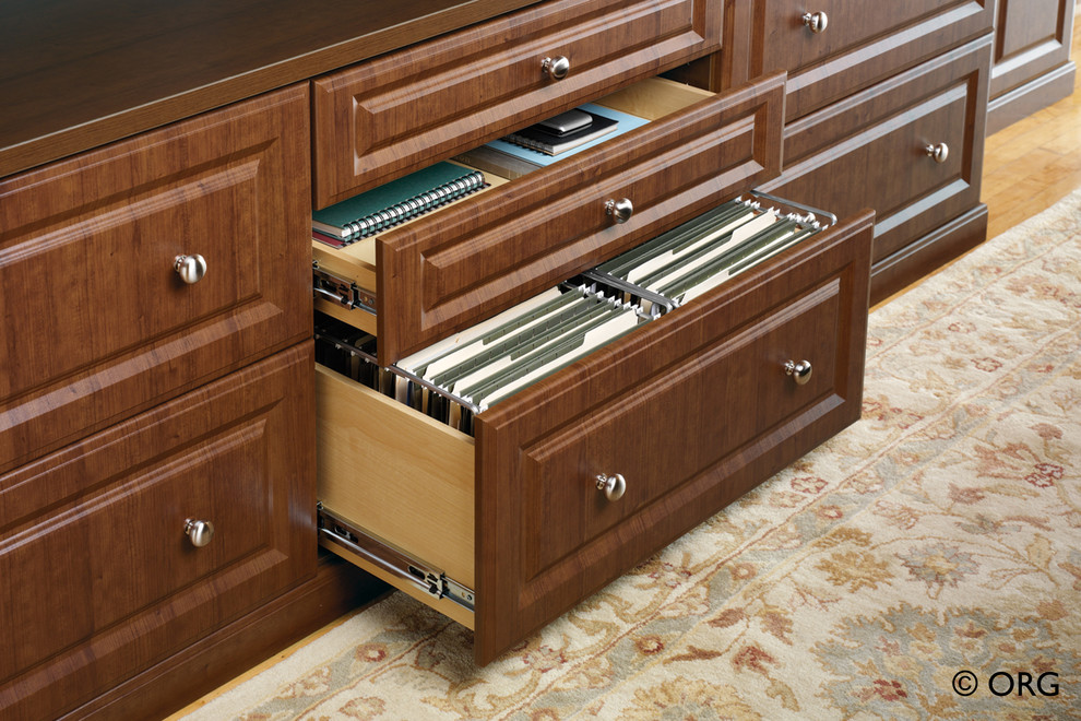 lateral file cabinets Home Office Traditional with built in file cabinet built-in storage lateral file cabinet