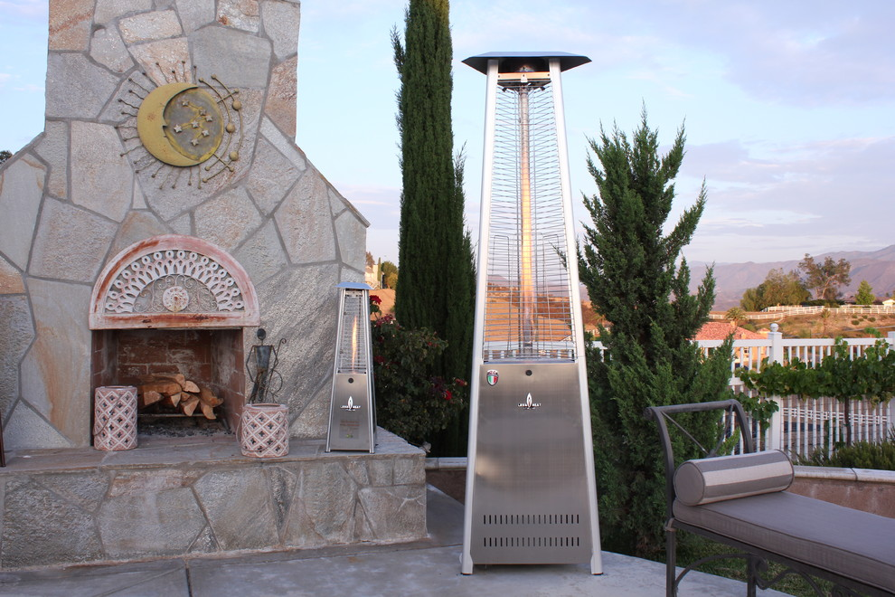 lava heat italia Patio Traditional with flame heater Lava Heat Italia natural gas heater outdoor heater patio heater