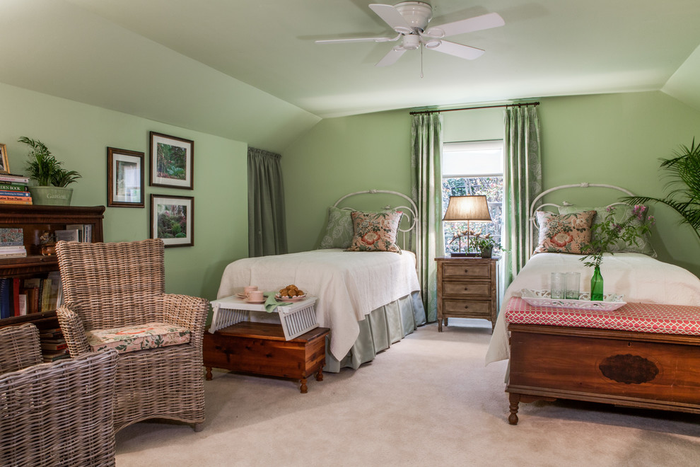 Lawyers Bookcase Bedroom Traditional with Birds Coastal Cottage Duster Floral Print Green Lawyers Bookcase Matelasse Duvet Cover