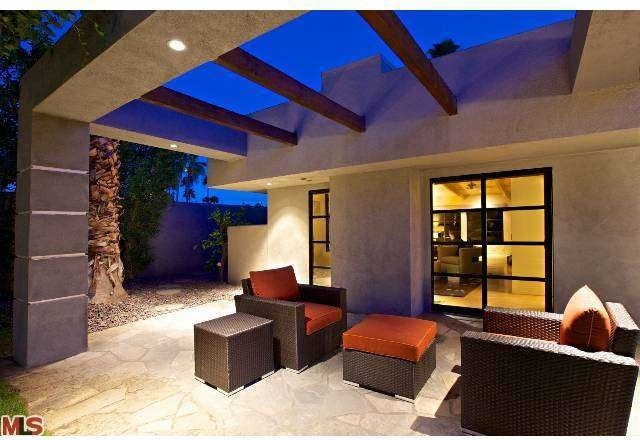 Leather Chaise Exterior with Contemporary Patio Furniture Exposed Beams Indoor Outdoor Living Upholstered Patio Furniture Wicker Patio