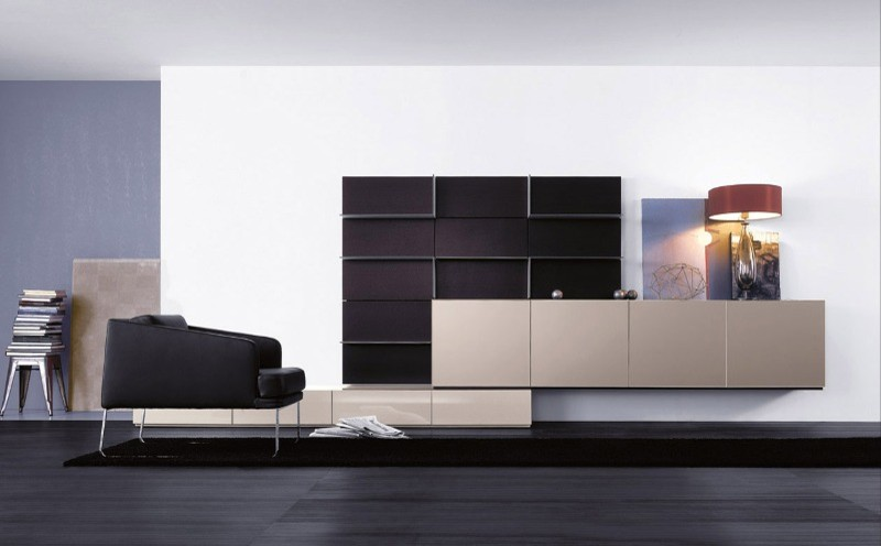 Leather Daybed Living Room Asian with Contemporary Sideboard Contemporary Living Room Contemporary Wall System European Furniture Italian Furniture