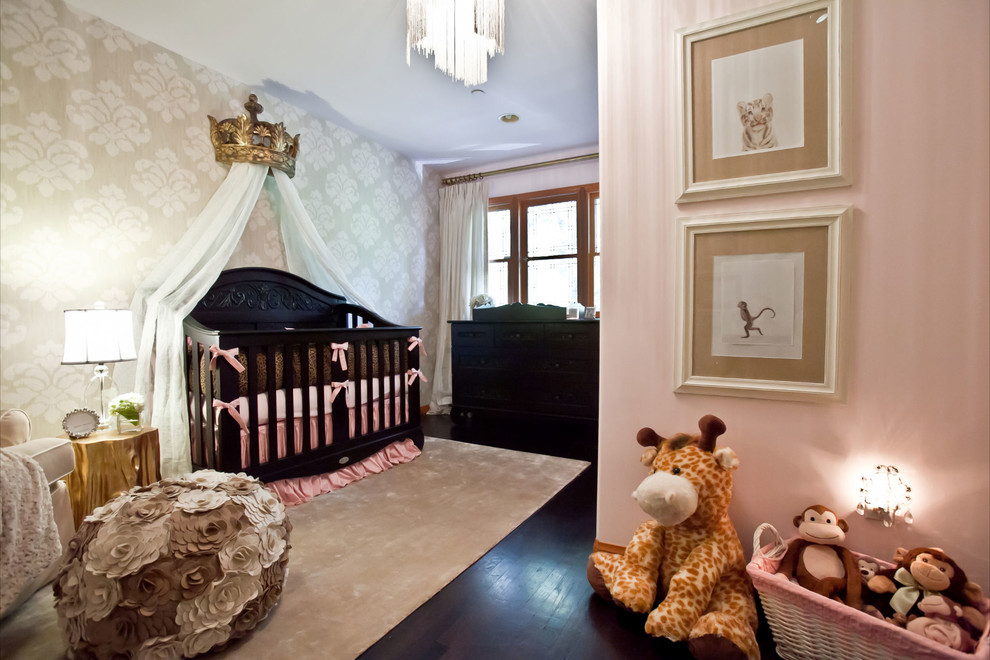 leopard bedding Nursery with Arteriors Arteriors Home Baby Room baby room decor baby room designer baby