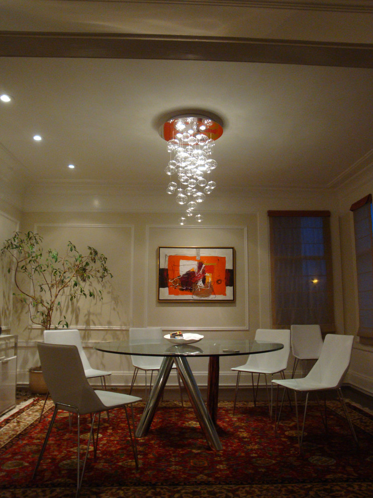 Leucos Lighting Dining Room Eclectic with Architectural Fixtures Italian Blown Glass Leucos Lighting Showrooms Santa Cruz Monterey Bay