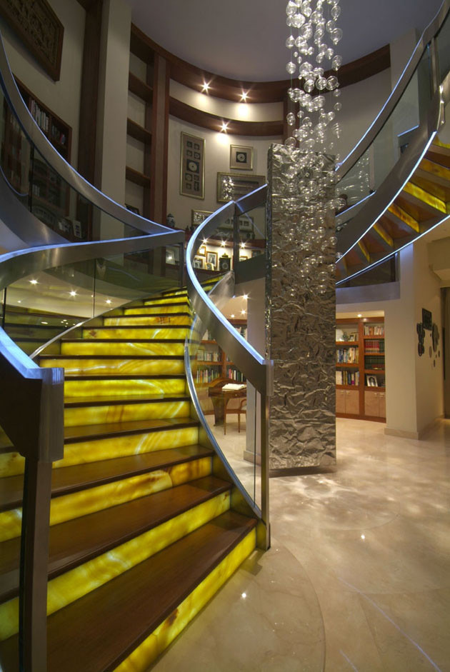 Leucos Lighting Staircase Contemporary with Aurelio Vazquez Contemporary Design Din Interiorismo House Interior Design Mexican Interior Design
