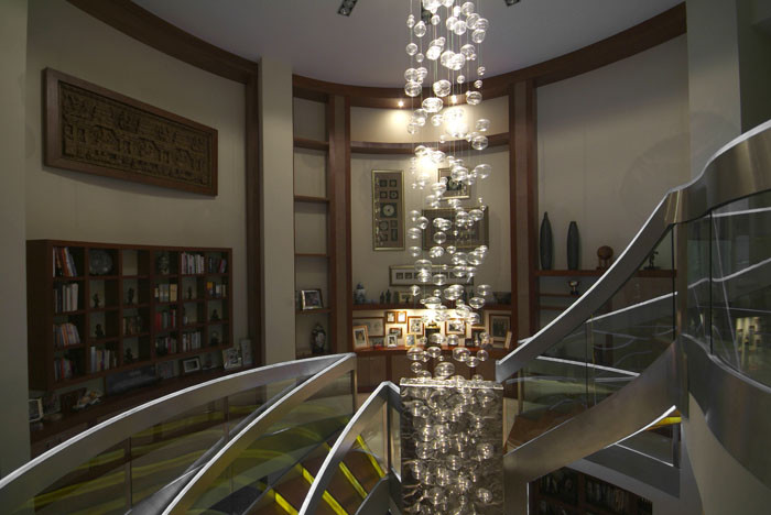 Leucos Lighting Staircase Contemporary with Aurelio Vazquez Contemporary Design Din Interiorismo House Interior Design Mexican Interior Design1