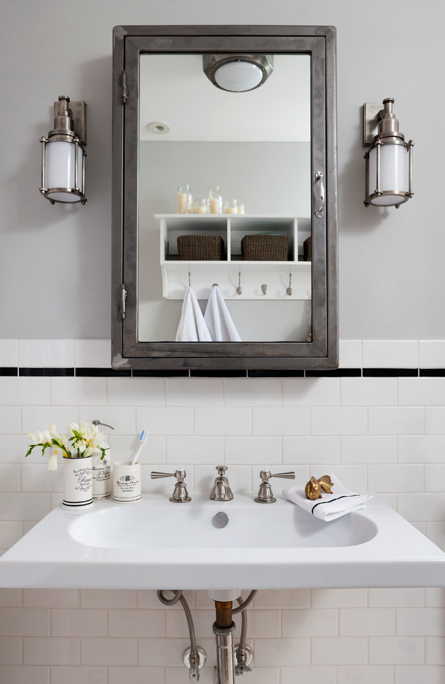 Lighted Medicine Cabinet Bathroom Eclectic with Categorybathroomstyleeclecticlocationdc Metro