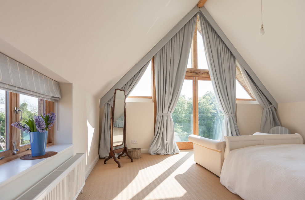 Lined Curtains Bedroom Contemporary with Balcony Carpet Cotswold Stone Curtains Deep Windows End of Bed Seating Extension
