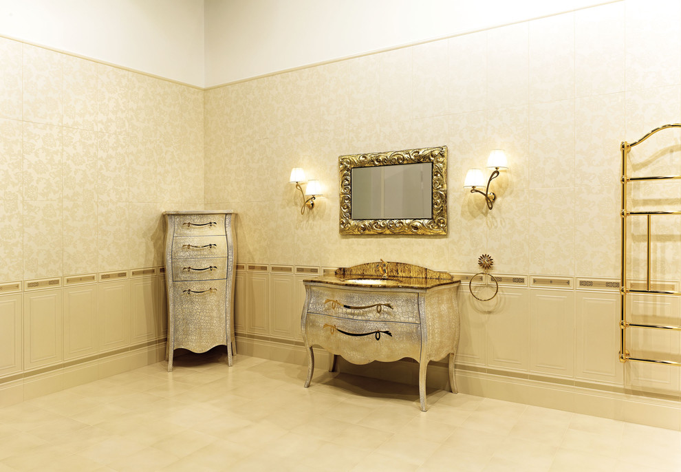 Lingerie Dresser Bathroom Eclectic with Gold Bathroom Accessories Gold Fixtures Moulding Silver and Gold Silver Cabinet Silver